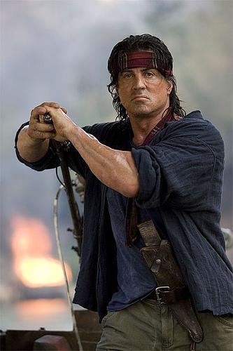 Nueva foto de Rambo...